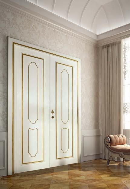 Производство белых межкомнатных дверей
